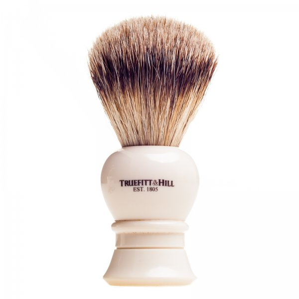 Truefitt & Hill Shaving Brush Regency Ivory Super Badger