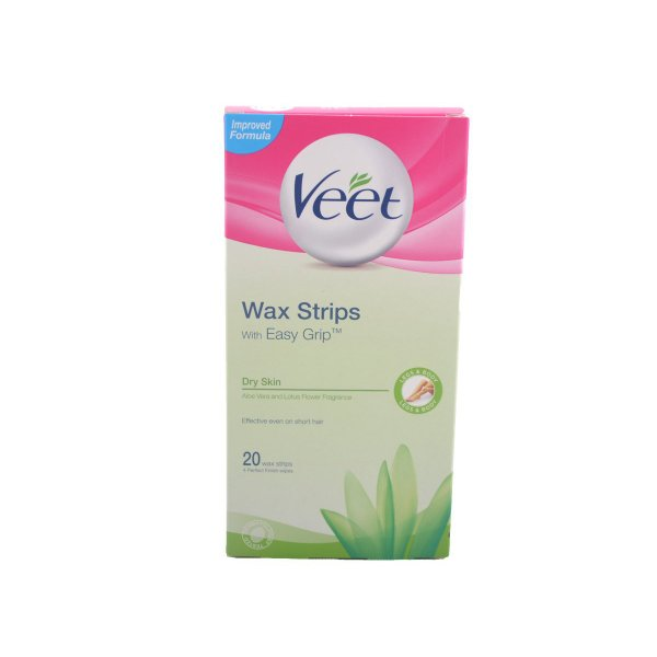 Veet For Men Cold Wax Strips – Hair removal strips