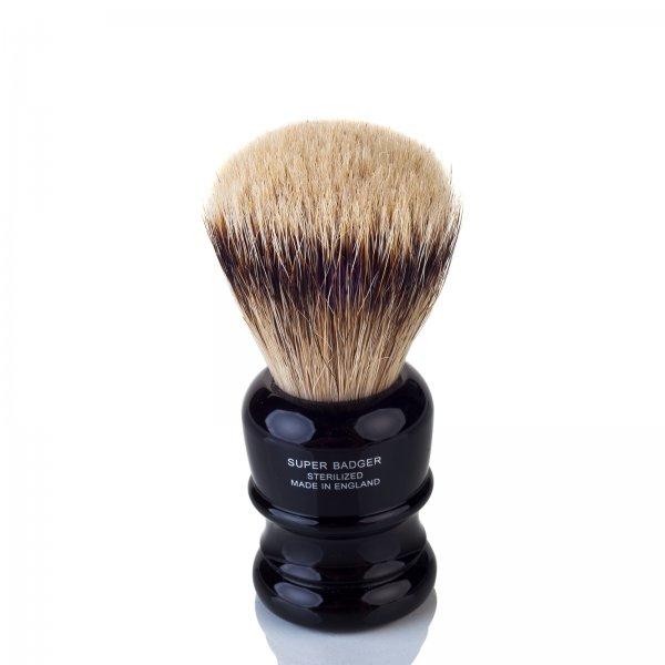 Truefitt & Hill Shaving Brush Wellington Ebony Super Badger