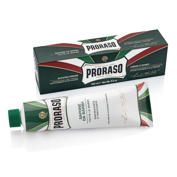 Proraso Shaving Cream Refreshing Eucalyptus Tube
