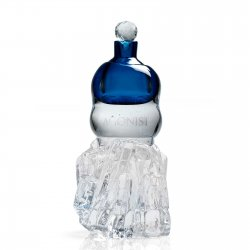 Agonist Dark Saphir Glass Sculptur + 50 ml EdP