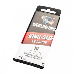 World's Best King-Size XX-Large 10-pack