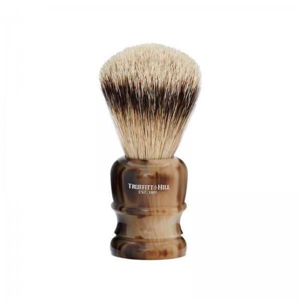 Truefitt & Hill Faux Horn Synthetic Shave Brush Wellington