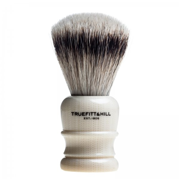 Truefitt & Hill Shaving Brush Wellington Ivory Super Badger