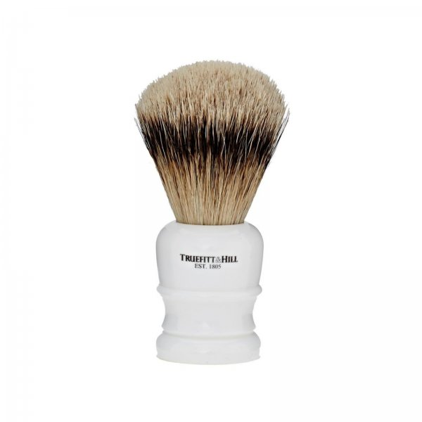 Truefitt & Hill Faux Porcelain Synthetic Shave Brush Wellington