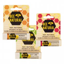 Bee Natural Lip Balm (Key Lime)