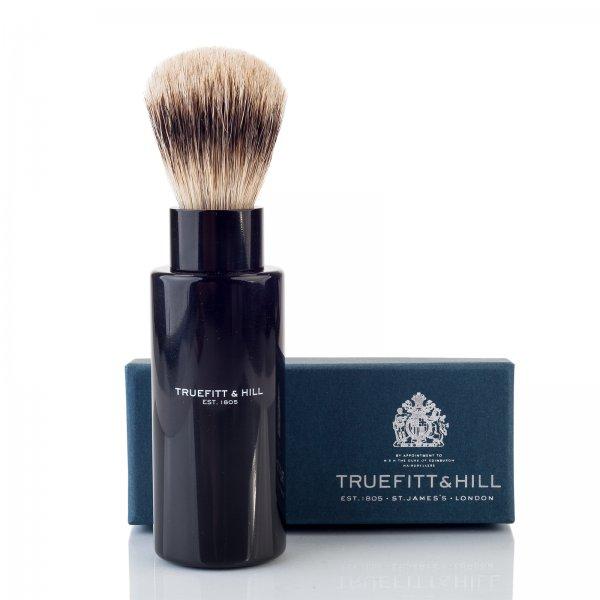 Truefitt & Hill Turnback Travel Shave Brush Ebony