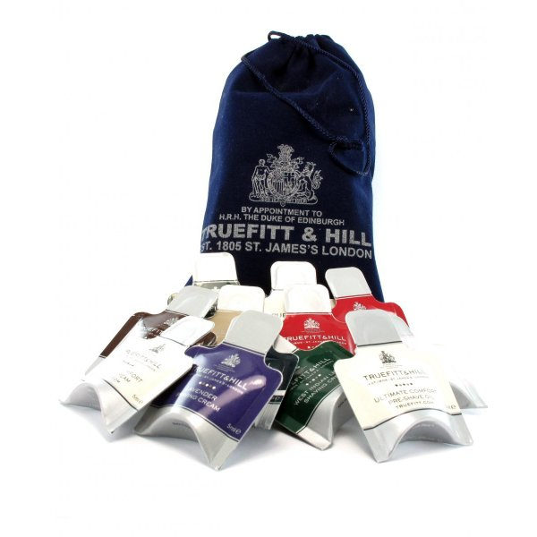 Truefitt & Hill Cream & Balm Sample Pack