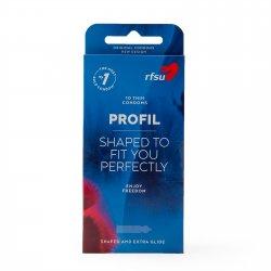 RFSU Profil 10-pack kondomer - Den skräddarsydda kondomen