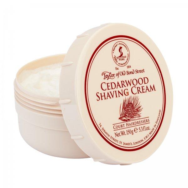 Taylor Of Old Bond Street Cedarwood Scent Mens Shave Shaving Cream 150g Bowl Shaving & Hair Removal